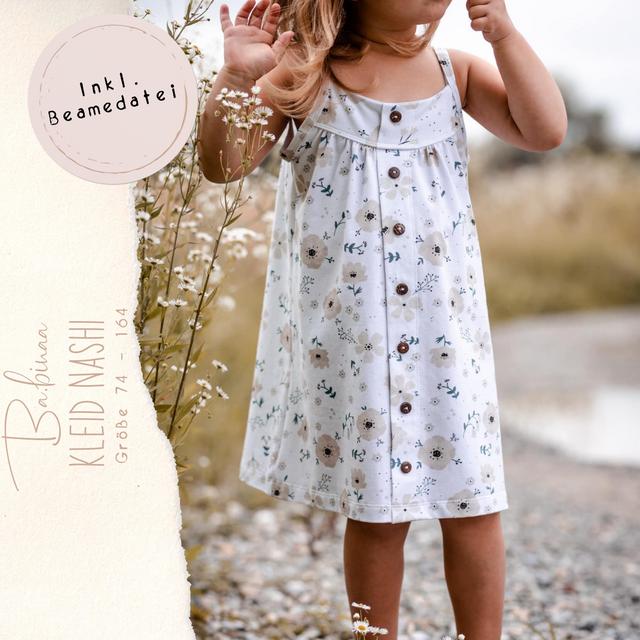 Produktfoto von Ba.binaa Patterns zum Nähen für Schnittmuster Kleid Nashi