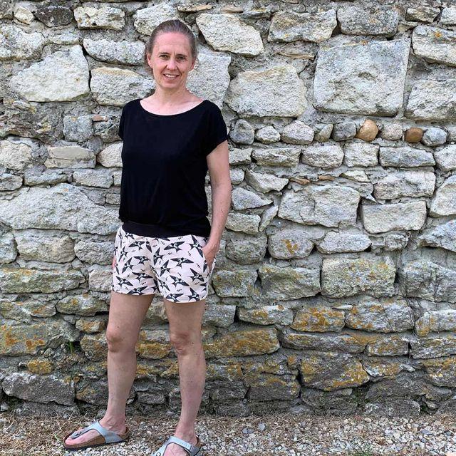 Produktfoto von Hummelhonig zum Nähen für Schnittmuster Joggpants Arles