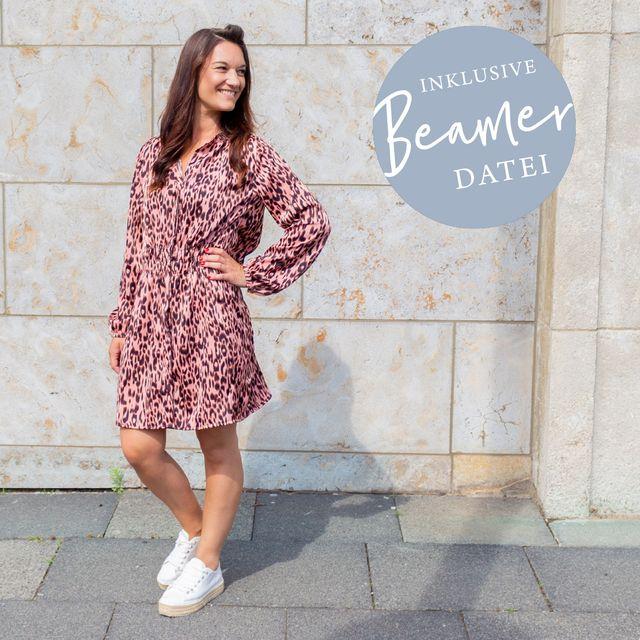 Produktfoto von lemon & mint Couture zum Nähen für Schnittmuster Kleid Valencia