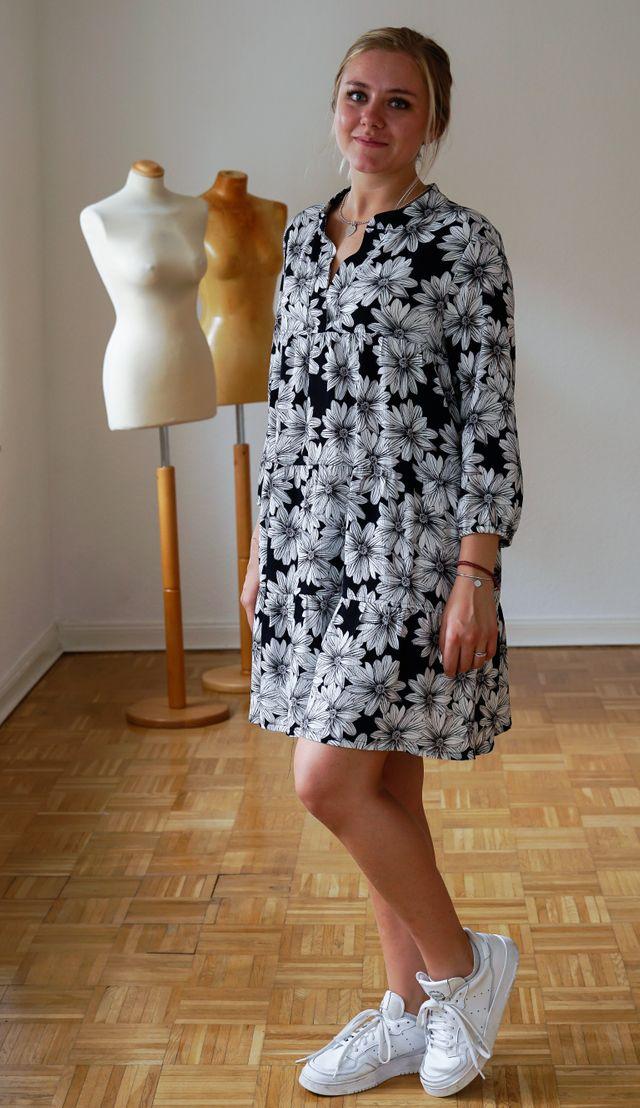 Produktfoto von Miou Miou zum Nähen für Schnittmuster Boho-Kleid & Tunika Solea