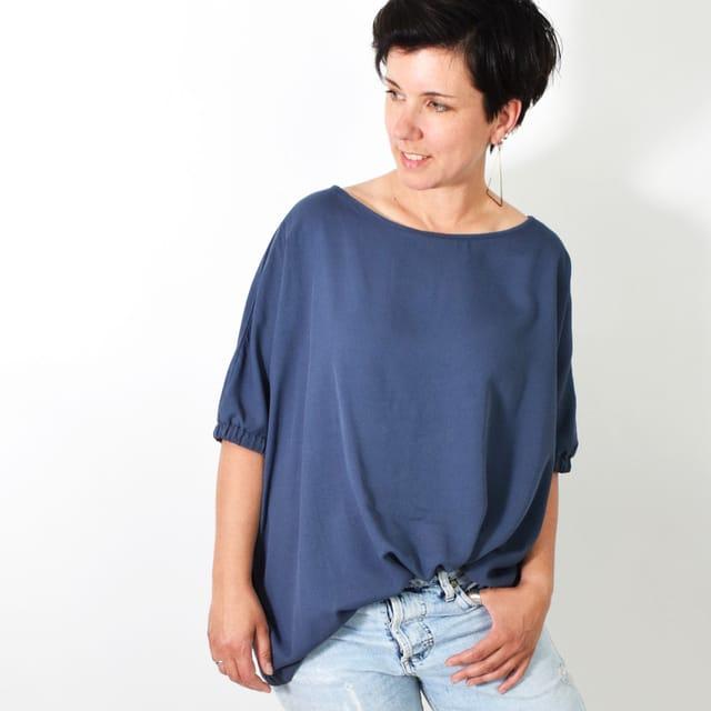 Produktfoto von Leni Pepunkt zum Nähen für Schnittmuster BOXY.bluse