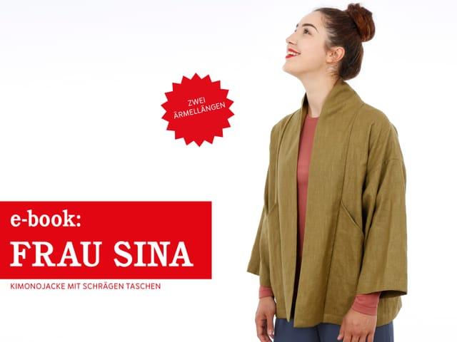 Produktfoto von STUDIO SCHNITTREIF zum Nähen für Schnittmuster Frau Sina