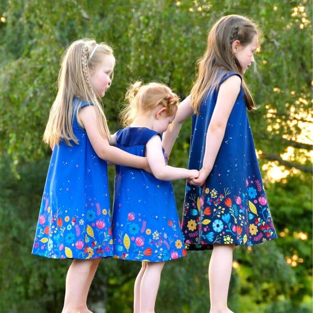Produktfoto von Libminna zum Nähen für Schnittmuster Passekleid Paula