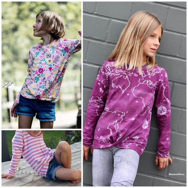 Produktfoto von Engelinchen zum Nähen für Schnittmuster Pullover Twistie