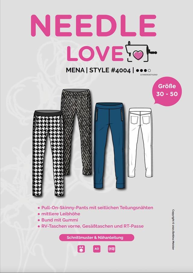 Produktfoto von {NEEDLE LOVE} zum Nähen für Schnittmuster MENAskinnypants