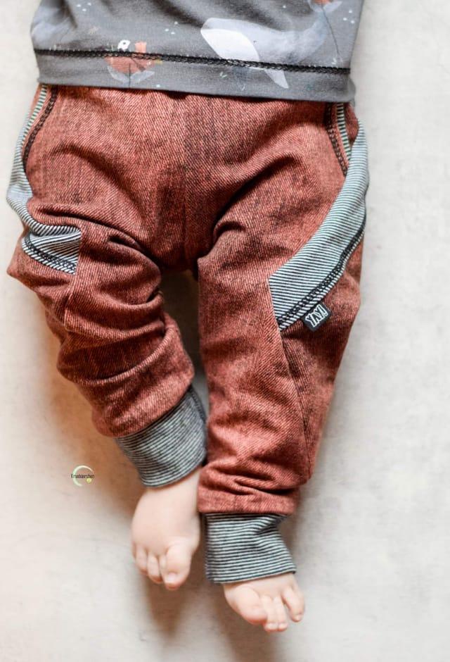 Produktfoto von FrleinFaden zum Nähen für Schnittmuster Hose Taschenblitz 68-98