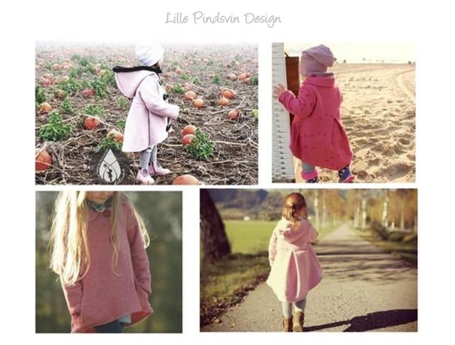 Produktfoto von Lille Pindsvin Design zum Nähen für Schnittmuster Mantel Skyla