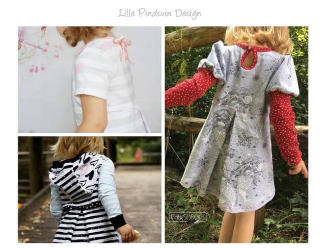 Produktfoto von Lille Pindsvin Design zum Nähen für Schnittmuster Skyla  Add-on: Ärmel- und Kapuzenerweiterung