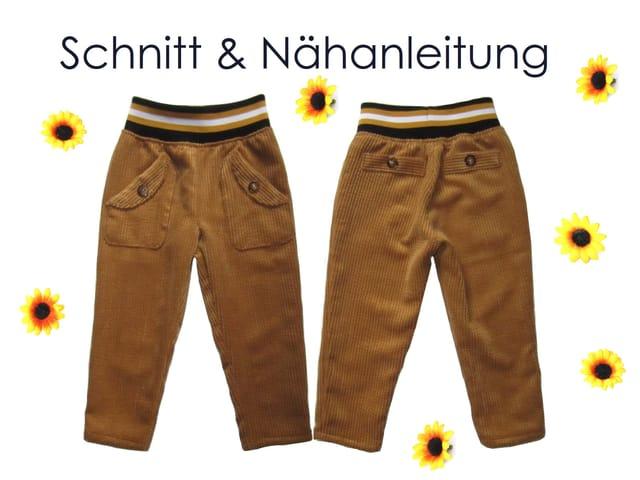 Produktfoto von Lunicum zum Nähen für Schnittmuster Hose mit Taschen