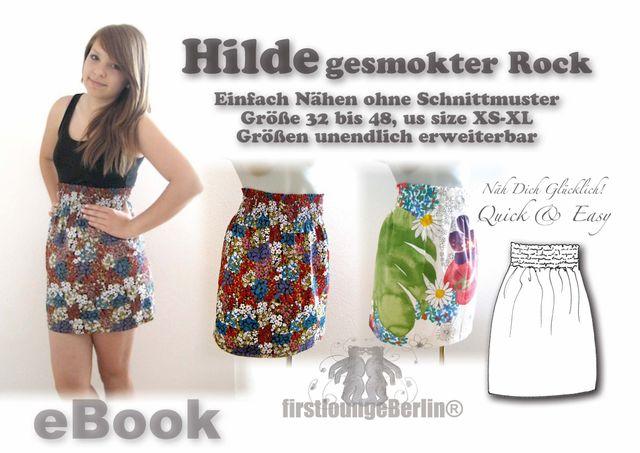 Produktfoto von Firstlounge Berlin zum Nähen für Schnittmuster Hilde