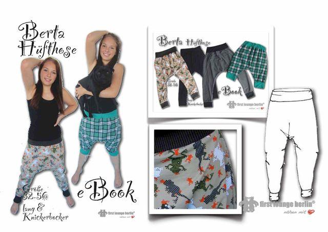 Produktfoto von Firstlounge Berlin zum Nähen für Schnittmuster Berta