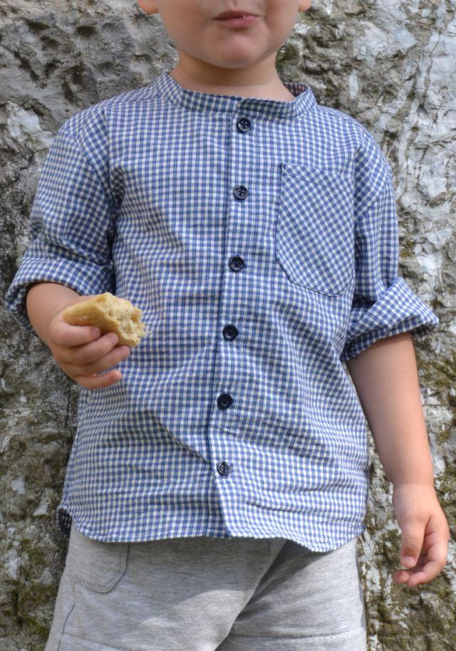 Produktfoto von Fabelwald zum Nähen für Schnittmuster Hemd Michel