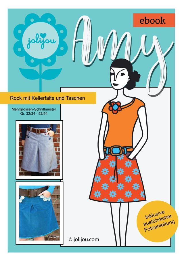 Produktfoto von Jolijou zum Nähen für Schnittmuster Amy