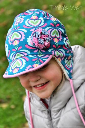 Produktfoto von Meine Herzenswelt zum Nähen für Schnittmuster Mütze Kinder - Linna