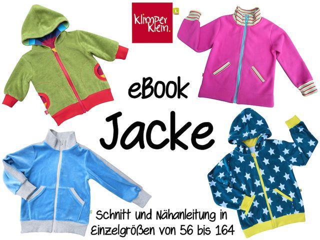 Produktfoto von klimperklein für Schnittmuster Jacke