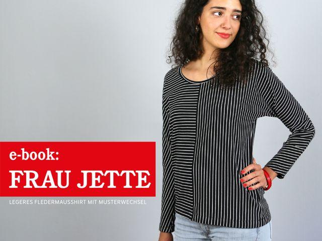 Produktfoto von STUDIO SCHNITTREIF zum Nähen für Schnittmuster Frau Jette
