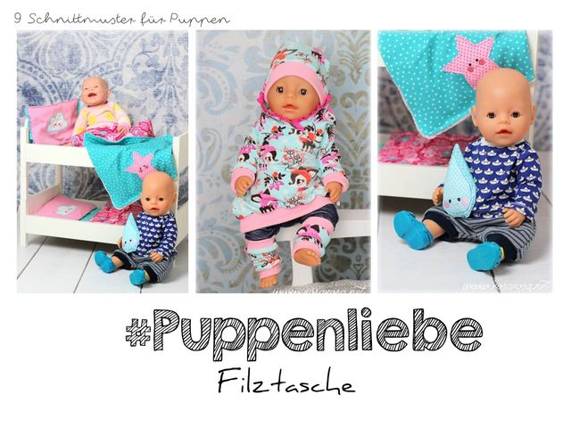 Produktfoto von rosarosa zum Nähen für Schnittmuster Puppenliebe