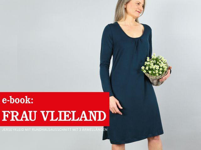 Produktfoto von STUDIO SCHNITTREIF zum Nähen für Schnittmuster Frau Vlieland