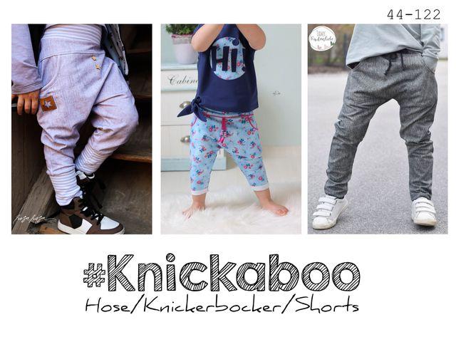 Produktfoto von rosarosa zum Nähen für Schnittmuster #knickaboo