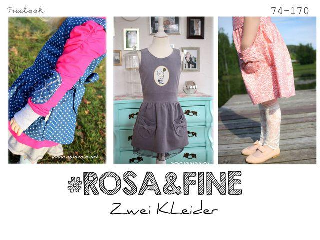 Produktfoto von rosarosa zum Nähen für Schnittmuster Rosa & Fine