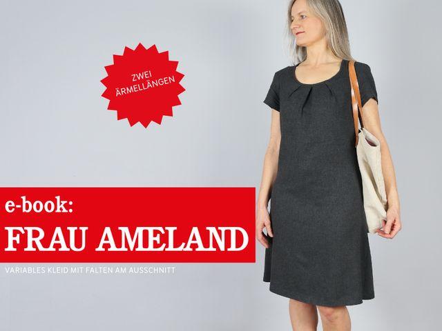 Produktfoto von STUDIO SCHNITTREIF zum Nähen für Schnittmuster Frau Ameland