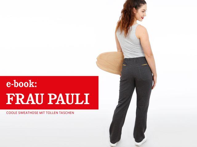 Produktfoto von STUDIO SCHNITTREIF zum Nähen für Schnittmuster Frau Pauli