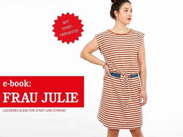 Produktfoto von STUDIO SCHNITTREIF zum Nähen für Schnittmuster Frau Julie