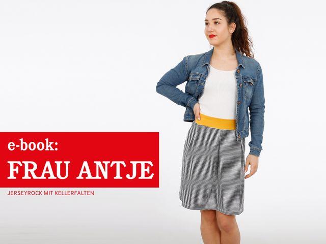 Produktfoto von STUDIO SCHNITTREIF zum Nähen für Schnittmuster Frau Antje