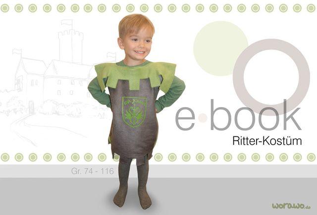 Produktfoto von worawo zum Nähen für Schnittmuster Ritter-Kostüm