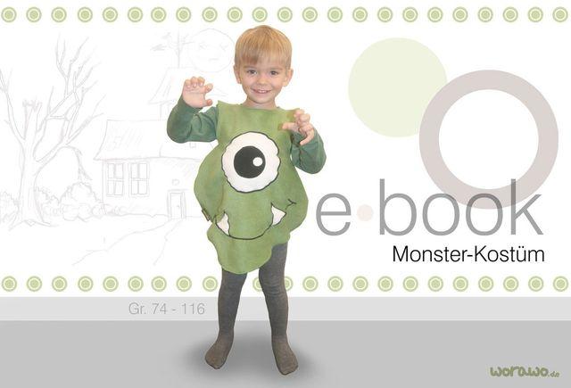 Schnittmuster Monster-Kostüm von worawo
