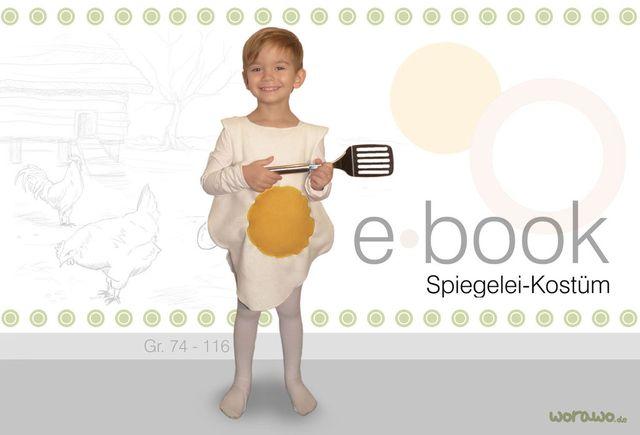 Produktfoto von worawo zum Nähen für Schnittmuster Spiegelei-Kostüm