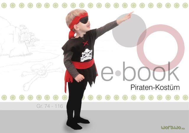 Schnittmuster Piraten-Kostüm von worawo