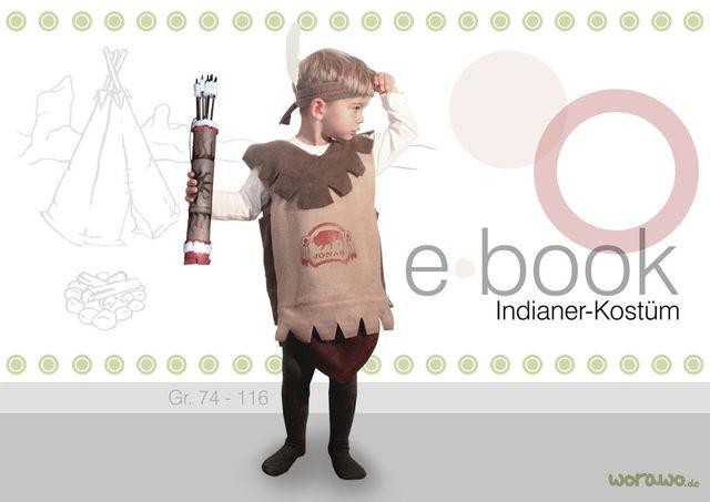 Produktfoto von worawo zum Nähen für Schnittmuster Indianer-Kostüm