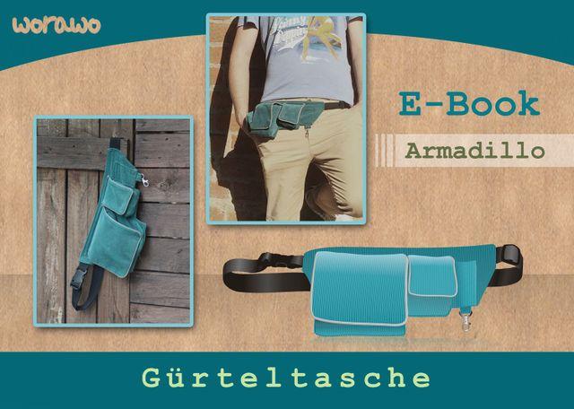 Produktfoto von worawo zum Nähen für Schnittmuster Armadillo
