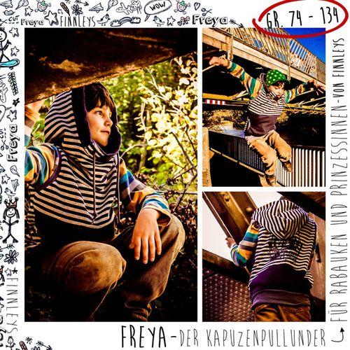 Produktfoto von Finnleys zum Nähen für Schnittmuster Freya