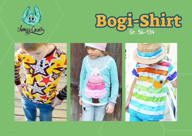 Produktfoto von Annas Country zum Nähen für Schnittmuster BoGi-Shirt