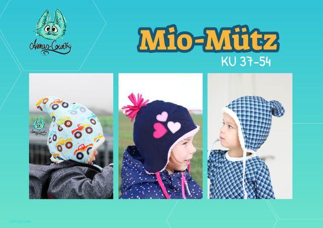 Produktfoto von Annas-Country zum Nähen für Schnittmuster MiO-Mütz