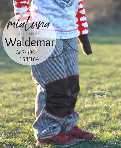 Produktfoto von mialuna zum Nähen für Schnittmuster Waldemar