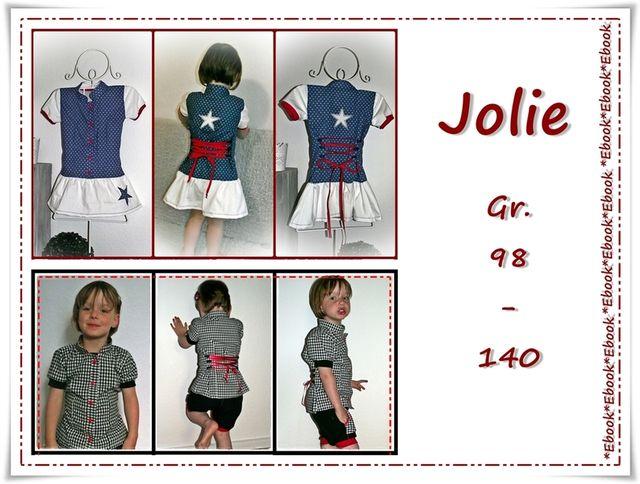Produktfoto von Frau Ninchen zum Nähen für Schnittmuster Jolie
