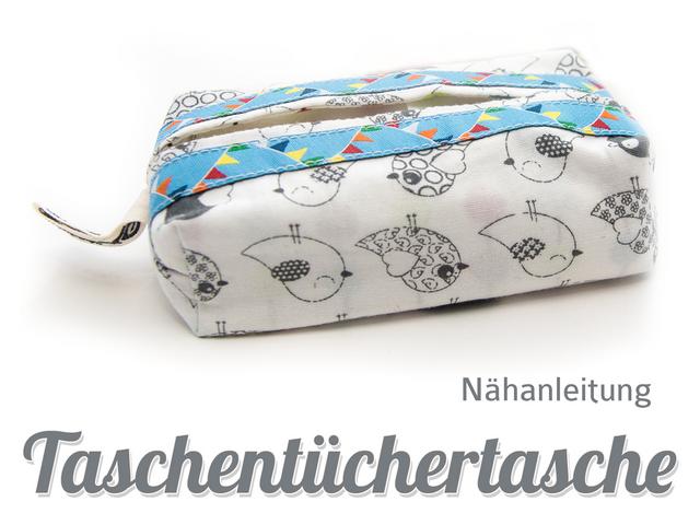 Produktfoto von Kubischneck zum Nähen für Schnittmuster Taschentüchertasche