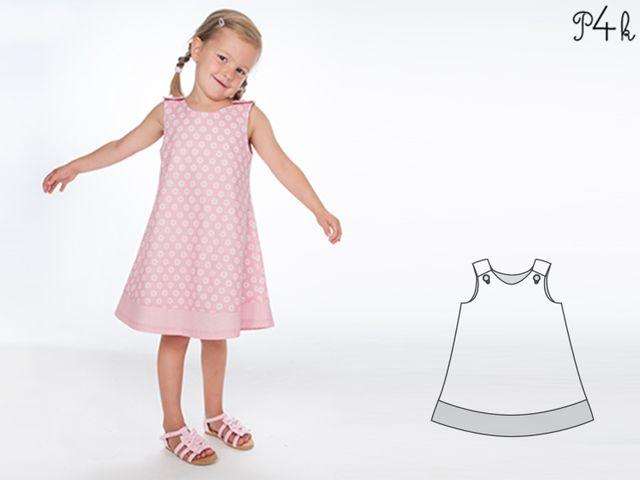 Produktfoto von Pattern 4 kids zum Nähen für Schnittmuster Steffi