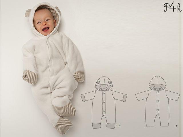 Produktfoto von Pattern 4 kids zum Nähen für Schnittmuster Cassia