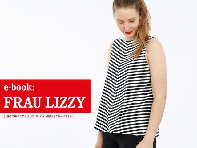 Produktfoto von STUDIO SCHNITTREIF zum Nähen für Schnittmuster Frau Lizzy