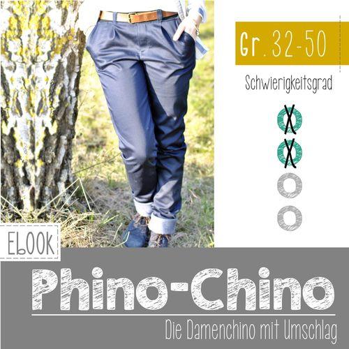 Produktfoto von FeeFee zum Nähen für Schnittmuster Phino Chino Damen