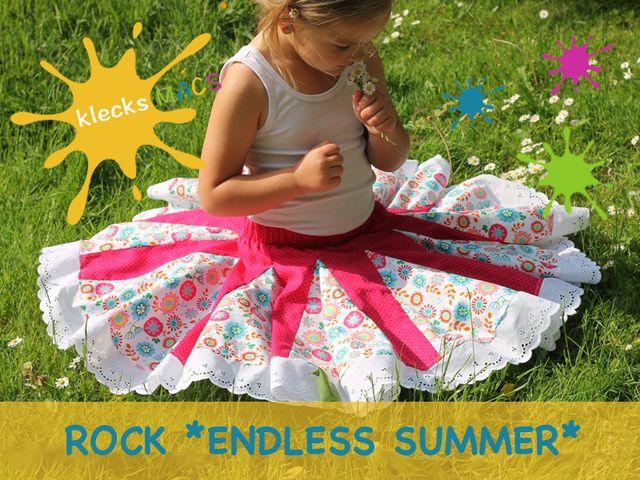 Produktfoto von klecksMACS zum Nähen für Schnittmuster Endless Summer