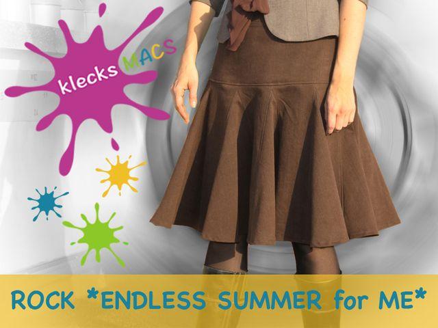 Produktfoto von klecksMACS zum Nähen für Schnittmuster Endless Summer for ME