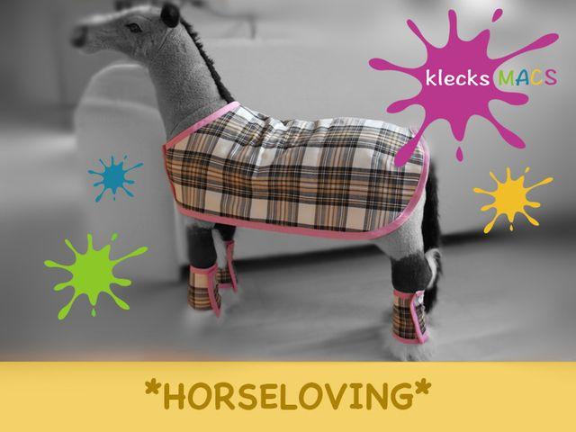 Produktfoto von klecksMACS zum Nähen für Schnittmuster HorseLoving