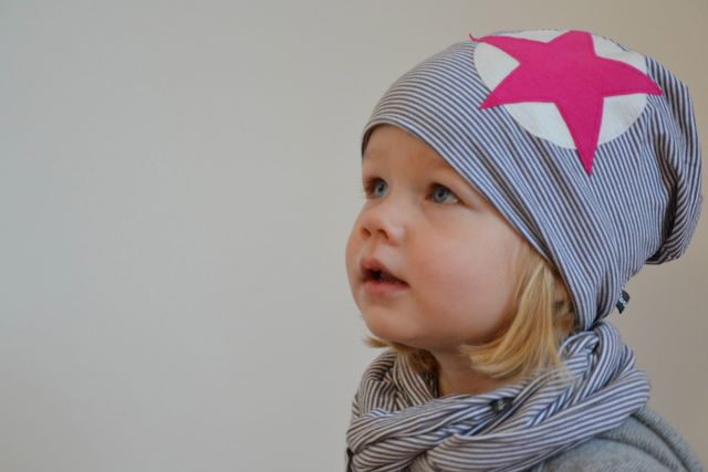Produktfoto von Kid5 zum Nähen für Schnittmuster #1 Family Beanie