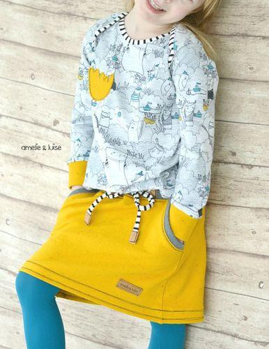 Produktfoto von Kid5 zum Nähen für Schnittmuster #15 Cozy Skirt Girls