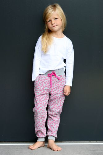 Produktfoto von Kid5 zum Nähen für Schnittmuster #28 Cozy Pants Kids